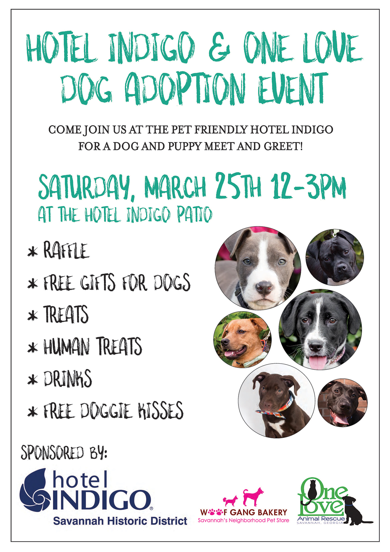 Join us at the hotel indigo one love animal rescue not looking to adopt right now thats okay bring your current canine companion for a fun afternoon out that helps support an amazing cause m4hsunfo