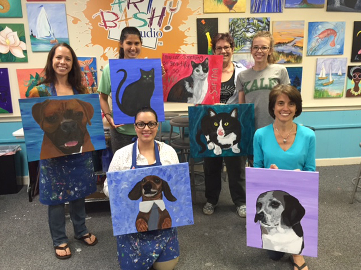 Painting with A Purpose - June 2017