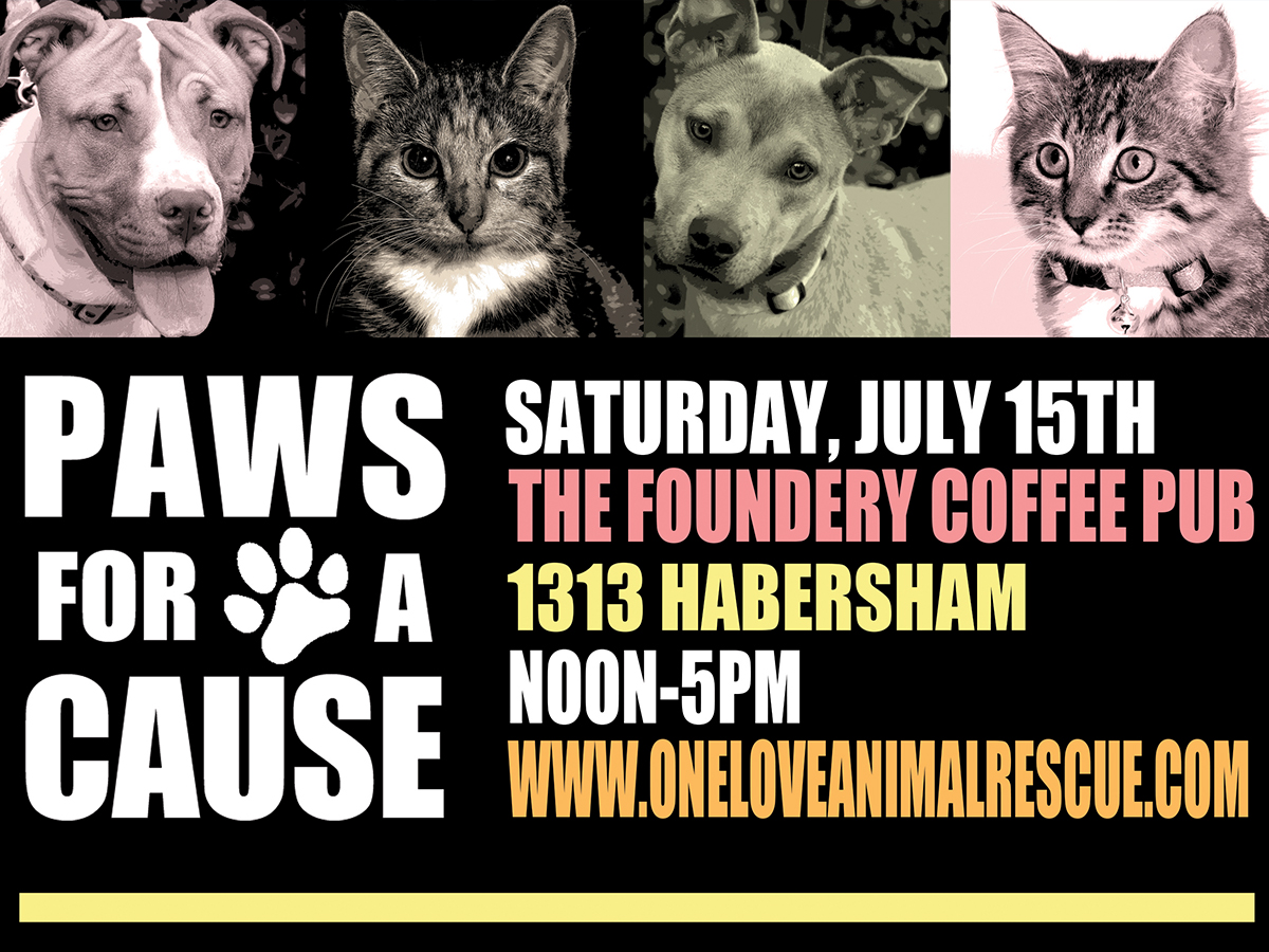 Paws for a Cause, a benefit for One Love Animal Rescue - Savannah, GA
