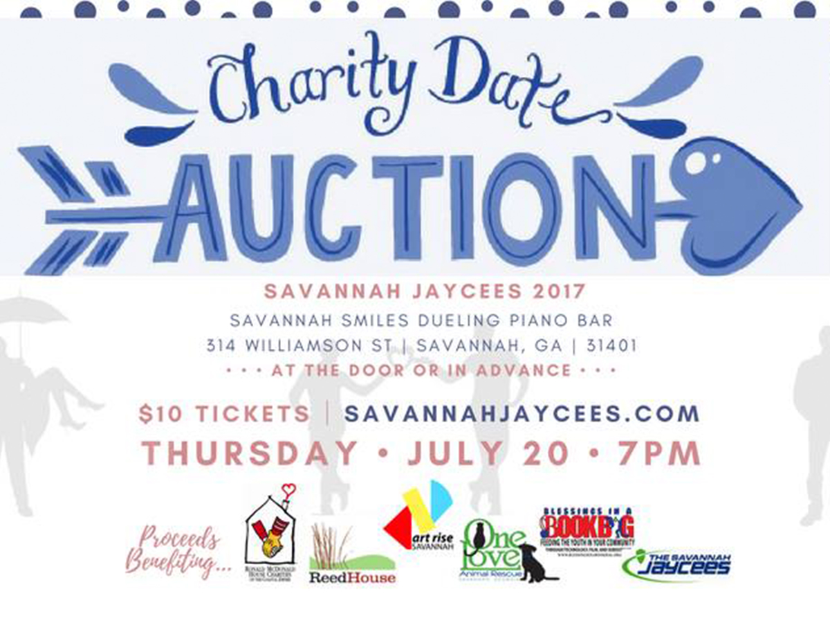 4th Annual Charity Date Night Auction hosted by the Savannah Jaycees
