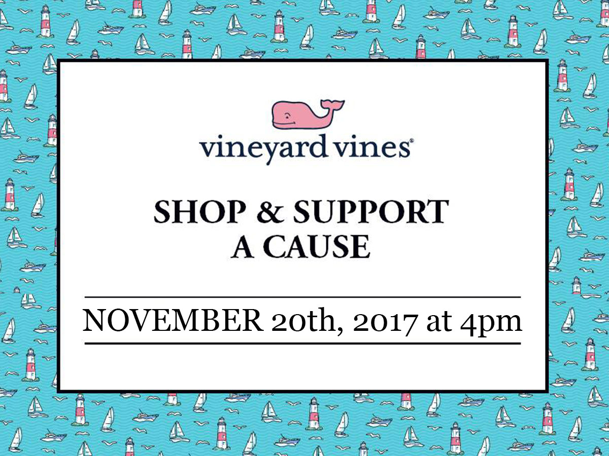 Shop and Support, Hosted by Vineyard Vines featuring One Love Animal Rescue