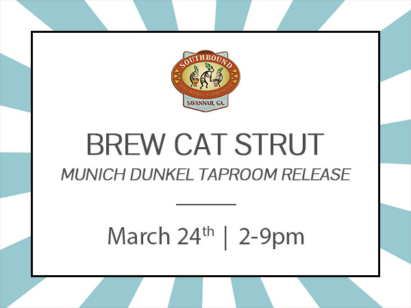 Brew Cat Strut hosted by Southbound Brewing Company and benefiting One Love Animal Rescue